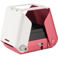 送女友礼物爆炸盒子便携式手机相册小型迷你照片打印机 现货 粉红色 官方标配