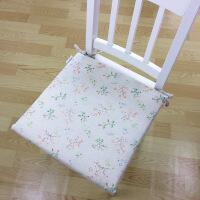 新品可拆洗坐垫办公室餐椅垫榻榻米绑带防滑座垫沙发椅子凳垫加厚冬季
