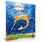 顺丰发货 Giraffes Can't Dance 长颈鹿不会跳舞 Giles Andreae经典英文原版儿童图书 大