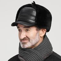 中老年人帽子男冬季加绒保暖帽老人男士爸爸帽冬天老头东北雷锋帽