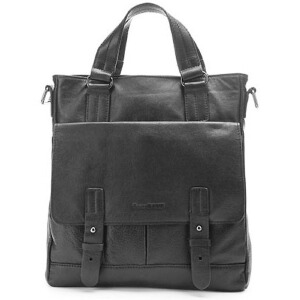 [当当自营]戈尔本 优雅绅士系列牛皮两用包(10-13寸) 黑色 1202014301