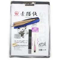 创意文具初学素描工具马可7件套装12支素描铅笔+炭笔+橡皮+速写板+素描纸素描 铅笔套装