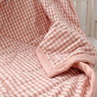 儿童棉花夏凉被水洗棉空调被婴儿薄款盖被幼儿园午睡被子定制