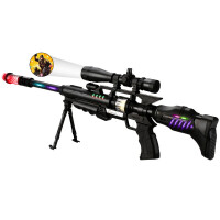 儿童电动玩具枪声光音乐宝宝小男孩生日冲锋枪3-6-2岁msa六一儿童节礼物 官方标配