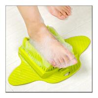 【好货】可悬挂吸盘脚部去死皮清洁刷 磨脚器洗浴搓脚板 洗脚器按摩磨脚