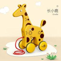 宝宝学步推车推推乐手推玩具婴儿学走路助步车儿童学步车手推车女