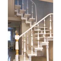 欧式阁楼走廊楼梯扶手栏杆花瓶立柱平台别墅室内阳台楼梯护栏