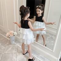 2019新款韩版洋气小女孩公主裙儿童装裙子潮女童夏装连衣裙