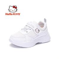 HELLOKITTY 童鞋女童运动鞋 学生小白鞋网面女孩休闲鞋K0513862
