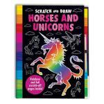 【预订】Scratch and Draw Horses and Unicorns