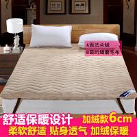 床垫加厚学生宿舍90x190米床褥子1.5m床软硬两用榻榻米1.8m床单人