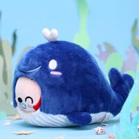 虎鲸毛绒公仔玩偶玩具可爱萌布娃娃女生生日礼物动漫卡通