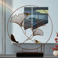 新中式鸟摆件现代简约玄关客厅电视柜桌面书房禅意装饰品家居摆设