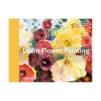 Learn Flower Painting Quickly 快速学习花卉绘画 英文原版艺术