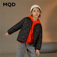 【1件2.5折券后价:82】MQD童装男童女童小童羽绒服20冬装新款儿童净色羽绒上衣多色外套