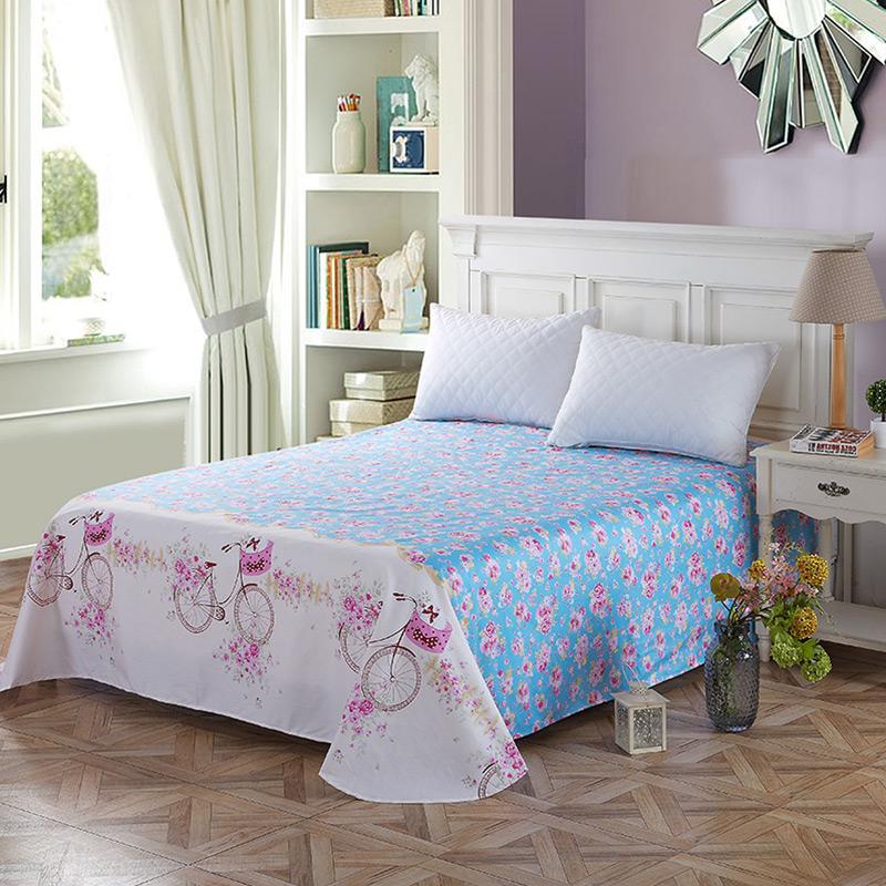当当优品 纯棉斜纹床上用品 床单200*230cm 纯情时代当当自营 100%纯棉 吸汗透气 可贴身裸睡 0甲醛