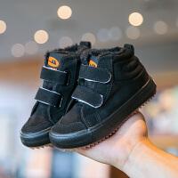 【3折价:69.9元】回力童鞋儿童棉鞋男童二棉鞋2019新款冬季加绒加厚女童鞋子大棉鞋