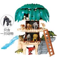 安利亚仿真野生动物模型 动物森林神殿981510儿童玩具