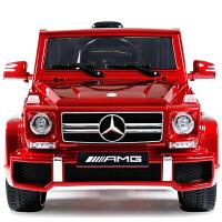 奔驰儿童电动车四轮双驱越野玩具车小孩遥控汽车可坐宝宝电瓶童车zf01zf01