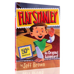 英文原版 Flat Stanley: His Original Adventure! 扁平的斯坦利:开始的冒险 Jef