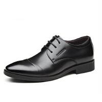 富贵鸟男鞋秋冬男士英伦时尚低帮潮流真皮鞋子男新款商务正装皮鞋