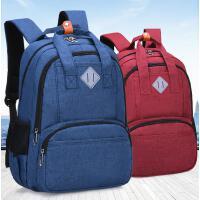 小学生书包男孩双肩休闲旅行背包中学生书包高中时尚双肩包
