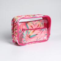 防水化妆包韩国大容量透明化妆品包包收纳包旅行包便携洗漱包