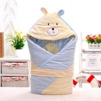 秋冬新款婴儿睡袋 新生儿加厚加大全棉抱被襁褓婴儿用品MY-01 95*95