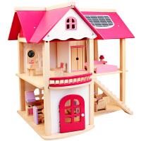 儿童女童仿真过家家玩具公主娃娃屋房子小女孩生日礼物