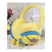 亲子卡通小黄人可爱冬季耳罩保暖耳护男耳套耳包女护耳儿童冬耳暖