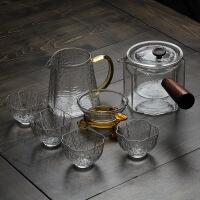玻璃茶壶耐高温加厚烧水壶养生壶家用黑茶煮茶泡茶器功夫茶具套装