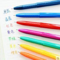 晨光文具 新流行彩色中性笔 多色AGP62403 0.38mm水笔
