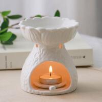 新品大容量陶瓷蜡烛炉香薰灯精油灯美容院卧室精油熏香炉