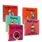 幼儿启蒙认知英文原版绘本5本套装Higher Higher Birthday Box Faster! Faster!
