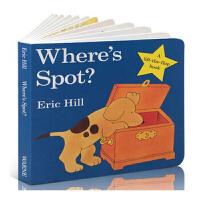 Where's Spot? 小玻在哪里(卡板书)9780399240461