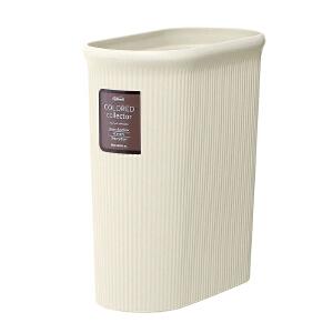 [当当自营]Lustroware 原装进口窄形垃圾桶(M)8.5L / L-1070/IV