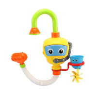 �和�洗澡玩具吹泡泡�C�����蛩�小�S��浴室�启~男孩玩水套�b螃蟹��