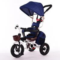 儿童车三轮脚踏车折叠儿童三轮车宝宝手推车1-3-5岁自行车QL-57