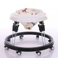 婴儿童宝宝学步车6/7-18个月小孩多功能防侧翻助步车可折叠学行车zf04