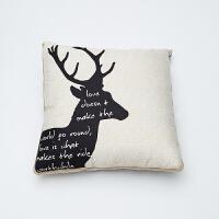 北欧风卡通抱枕被 创意毛毯被 多功能靠垫抱枕 抱枕毛毯双用途定制