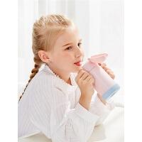 儿童保温杯子带吸管两用316不锈钢宝宝小学生幼儿园便携水壶