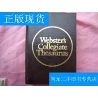 【二手旧书9成新】Wedsters Collegiate Thesaurus (韦氏大学类义词词典) 英文版 【