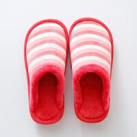 棉拖鞋女2018新款冬季厚底保暖月子毛毛拖鞋家居室内防滑加绒情侣