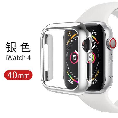 适用apple watch苹果智能手表保护壳iwatch 4代新款保护套防摔防滑保护壳配件40/4