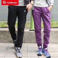 【到手价:109】探路者卫裤 秋冬户外男式柔软舒适修身卫裤TAMF91880