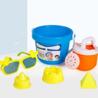 儿童沙滩玩具车套装挖沙铲子桶男孩女孩宝宝玩沙子决明子工具