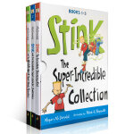 顺丰发货 Stink: The Super-Incredible Collection: Books 1-3本盒装 J