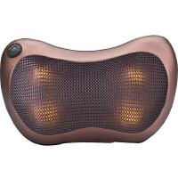 捷�N 颈椎按摩器颈部腰部多功能全身家用车载按摩枕电动靠垫椅垫枕头