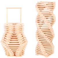 [当当自营]木马智慧 创意积木片 儿童益智积木玩具 29113