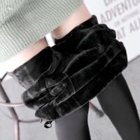 秋冬孕妇一体托腹踩脚裤加绒加厚打底裤怀孕期外穿高腰弹力保暖裤